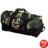 "23"" Camouflage Duffle Bag"