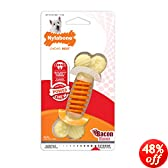 Nylabone Dental Chew Small Bacon flavored Pro Action Bone Dog Chew Toy