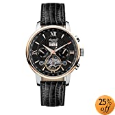 Ingersoll Men's IN6900RBK Automatic Grand Canyon IV Rose Gold Black Watch