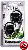 Panasonic RP-HS46E-K Slim Clip on Earphone - Black