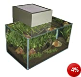 Fluval 15395 - Edge Nano Aquarium, zinnfarben