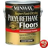Minwax 13025 VOC Fast Drying Polyurethane For Floor