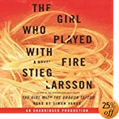 The Girl Who Played with Fire &#40;Audio Download&#41;: Stieg Larsson, Simon Vance