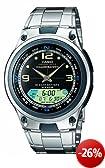 Casio Collection Herren-Armbanduhr Analog / Digital Quarz AW-82D-1AVES
