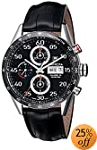 TAG Heuer Men's CV2A10.FC6235 Carrera Automatic Chronograph Day-Date Watch