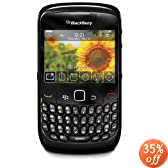 Blackberry 8520 Gemini Curve Unlocked Phone with 2 MP Camera, Bluetooth, Wi-Fi--International Version with No Warranty (Black)