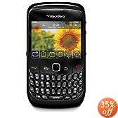 Blackberry 8520 Gemini Curve Unlocked Phone with 2 MP Camera, Bluetooth, Wi-Fi--International Version with No Warranty (Black)