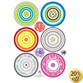 Easy Instant Wall Decorations Stickers - Flower Spindles