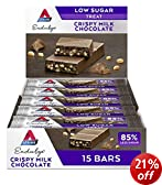 Atkins Endulge Milk Chocolate 30 g Low Carb Crisp Bars - 15-Pack