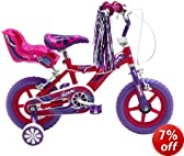 Sonic Glitz Girls Bike - Purple/Cerise, 12-inch