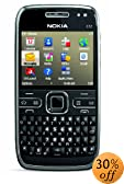 Nokia E72 Unlocked Phone with GPS and Free Voice Navigation -- U.S. Version with Full Warranty (Zodium Black)