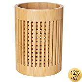 Totally Bamboo Lattice Utensil Holder