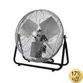 TPI Corporation F18-TE Industrial Workstation Floor Fan, Single Phase, 18&quot; Diameter, 120 Volt (Floor Model)