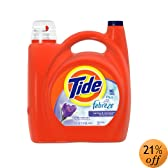 Tide 2x Ultra with Febreze Liquid Spring and Renewal Scent with Actilift, 150.0-Ounce Bottles (Pack of 2)