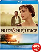 Pride & Prejudice [Blu-ray]: Keira Knightley, Moya Brady, Judi Dench, Roy Holder, Meg Wynn Owen, Donald Sutherland, Pip Torrens, Penelope Wilton, Jay Simpson, Peter Wight, Jena Malone, Tom Holland