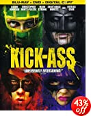 Kick-Ass (Three-Disc Blu-ray/DVD Combo + Digital Copy): Nicolas Cage, Mark Strong, Aaron Johnson, Christopher Mintz-Plasse, Chloë Grace Moretz, Matthew Vaughn, Brad Pitt, Kris Thykier, Adam Bohli