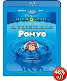 Ponyo (Two-Disc Blu-ray/DVD Combo): Noah Lindsey Cyrus, Frankie Jonas, Cate Blanchett, Liam Neeson, Tina Fey, Matt Damon, Lily Tomlin, Betty White, Cloris Leachman, Hayao Miyazaki