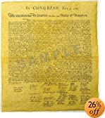 Declaration of Independence 23 X 29, Constitution of the U.S. 23 X 29, Bill of Rights 23 X 29 Posters
