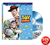 Toy Story (Two-Disc Special Edition Blu-ray/DVD Combo w/ Blu-ray Packaging): Tim Allen, Tom Hanks, Annie Potts, John Ratzenberger, Don Rickles, Wallace Shawn, Jim Varney