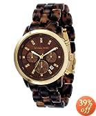 Michael Kors Women's MK5216 Chronograph Tortoise Watch