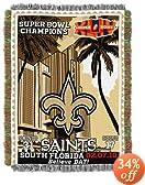 New Orleans Saints 2009 Super Bowl XLIV Champion Acrylic Tapestry
