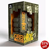 Grenade Thermo Detonator Thermogenic Weight Management Supplement - Tub of 100 Capsules
