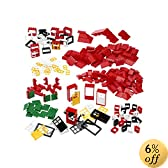 LEGO Education Doors, Windows & Roof Tiles Set 4587438 (278 Pieces)