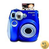 Polaroid 300 Instant Camera PIC-300L (OLD MODEL) Blue
