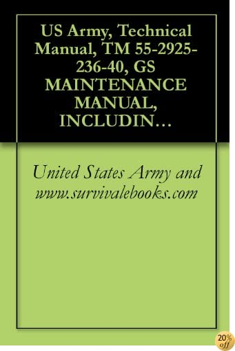 US Army, Technical Manual, TM 55-2925-236-40, GS MAINTENANCE MANUAL, INCLUDING REPAIR PARTS AND SPECIAL TOOL LISTS: STARTER GENERATOR, PART NO. 30E20-61-A, (BENDIX),