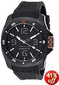 Tommy Hilfiger Men's 1790708 Analog Display Japan Movement Black Watch