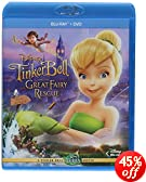 Tinker Bell and the Great Fairy Rescue (Two-Disc Blu-ray/ DVD Combo): Mae Whitman, Michael Sheen, Kristin Chenoweth, Lucy Liu, Pamela Adlon, Jesse McCartney, Raven-Symoné, Jeff Bennett, Rob Pau