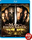 The Man In The Iron Mask (w/DVD) [Blu-ray]: Leonardo DiCaprio, John Malkovich, Jeremy Irons