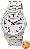 Mondaine Men's A669.30308.16SBM Sport I NightVision Steel Bracelet Watch