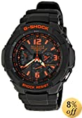 Casio Men's GW3000B-1ACR G-Shock Solar Power Black With Orange Dial Watch