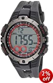 Timex Ironman Men's Quartz Watch with LCD Dial Digital Display and Black Resin Strap - T5K423