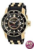 Invicta Men's 6991 Pro Diver Collection GMT Black Dial Black Polyurethane Watch