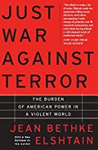 Just War Against Terror: The Burden Of…