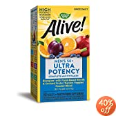 Nature's Way Alive Once Daily Men's 50+ Multi Ultra Potency, Tablets, 60-Count