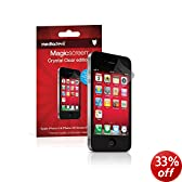 MediaDevil Apple iPhone 4 / 4S Screen Protector: Magicscreen Crystal Clear (Invisible) Edition - (2 x Protectors)