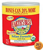 Best Organic Infant Formula with DHA & ARA (20% Bonus Size), 31.75-Ounce Cans (Pack of 4): Amazon.com
