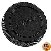 Fotodiox Rear Lens Cap for Micro Four Thirds (MFT) Lens (Black)