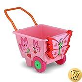 Melissa & Doug Sunny Patch Bella Butterfly Cart