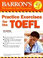 Practice Exercises for the TOEFL…