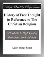 A critical history of free thought in…
