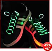 Green LED Shoelaces Light up Laces