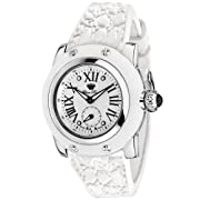 Glam Rock Women's GR40303WW Palm Beach Collection White Silicone Watch