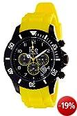 Ice-Watch Armbanduhr Ice-Chrono Big Schwarz/Gelb Analog Quarz CH.BY.B.S.10