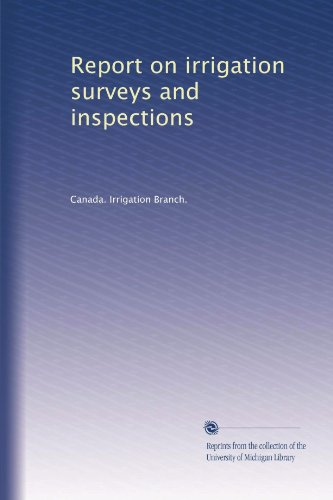 report-on-irrigation-surveys-and-inspections