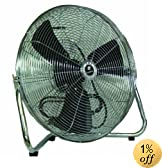 TPI Corporation CF-12 Commercial Workstation Floor Fan, 12&quot; Diameter, 120 Volt