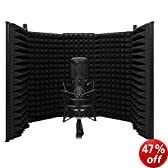 Essentials Audio Recording Portable Vocal Booth For Home and Project Studios